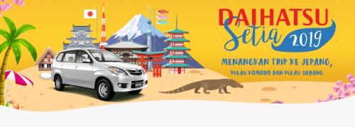 Daihatsu Bandung Daihatsu 2019 - Menangkan Trip Ke Jepang