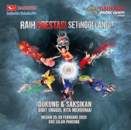 Daihatsu Bandung Daihatsu Astec Open 2020