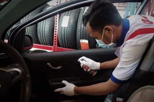 Daihatsu Bandung Hindari Virus, Ini Cara Mudah Bersihkan Interior