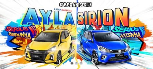 Daihatsu Bandung Launching New Ayla MC & New Sirion MC
