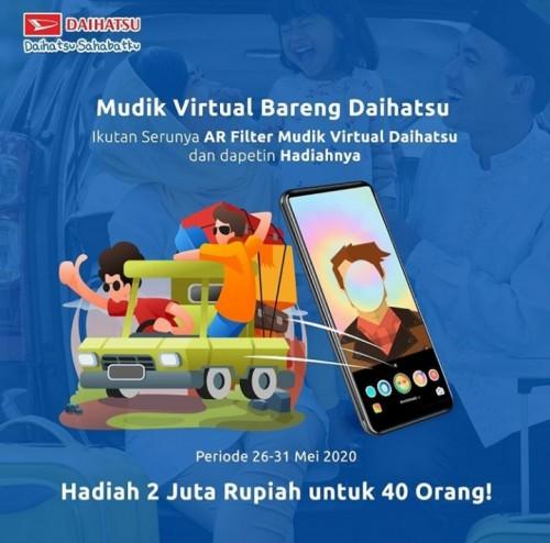 Daihatsu Bandung Mudik Virtual Bareng Daihatsu