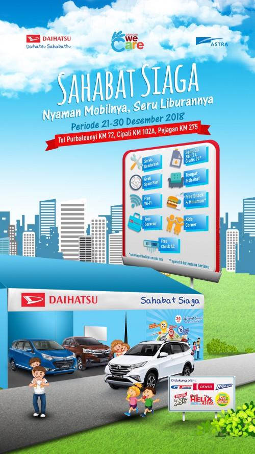 Daihatsu Bandung Posko Siaga 2018 Daihatsu