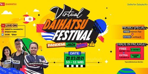 Daihatsu Bandung Virtual Daihatsu Festival